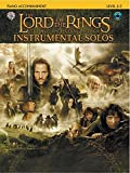 The Lord of the Rings Instrumental Solos: Piano Acc., Book & CD