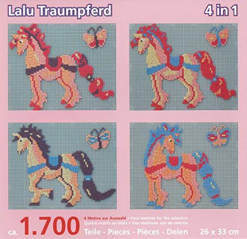 stickit Mini Stecksystem Lalu Traumpferd 4 in 1 ca. 1.700 Teile Nr. 41074
