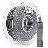 AMOLEN PLA Filamento Impresora 3D 1.75mm Cemento Gris 1KG,+/- 0.03mm Materiales de impresión 3D de filamento, incluye Ladrillo Rojo Muestra Filamento.