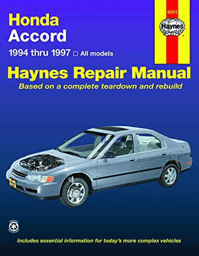 Honda Accord 1994-1997 (Haynes Manuals) (Accord Honda 1996)