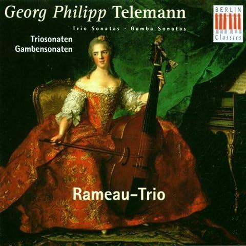 Trio Sonatas / Gamba Sonatas by (Rameau Trio)