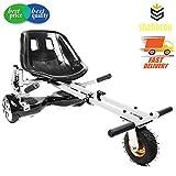 shabazon hovercart–verstellbar–für Kart für Hoverboard 16,5cm 20,3cm & 25,4cm Zoll Zwei Rad selbst Balancing Hoverboard, weiß