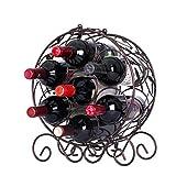 Madaye Weinregal Europäisch Eisen Rotwein Regal Wein Show Ständer 30.7*15*36cm