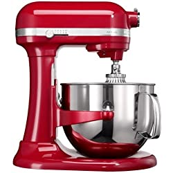 KitchenAid 5KSM7580XEER robot, 500 W, 6.9 liters, Rouge
