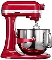 KitchenAid 5KSM7580XEER, Rosso, Acciaio inossidabile, 50 - 60 Hz . KitchenAid 5KSM7580XEER. Colore del prodotto: Rosso. Peso: 12,6 kg, Larghezza: 37,1 cm, Profondità: 33,8 cm. Frequenza di ingresso AC: 50 - 60 Hz. Materiale contenitore: Acciaio inoss...