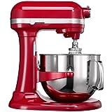 KitchenAid 5KSM7580XEER - Robot de cocina (Rojo, Acero inoxidable, 50 - 60 Hz)