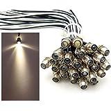 50x LED lichtpunt sterrenhemel aluminium IP68 waterdicht verbruik 0,2 watt per lichtpunt dimbaar inbouw spot schroef licht pu