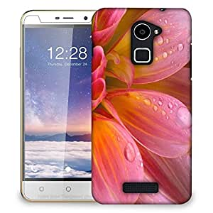 Snoogg Pink Petals Designer Protective Back Case Cover For COOLPAD NOTE 3 LITE