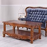 Couchtisch Antik Tisch Mahagoni Wohnzimmertisch Massivholz Palazzo Exklusiv