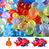 Picture Of Water Bombs Summer Party Balloons - Pack Of 400! including tap nozzle
