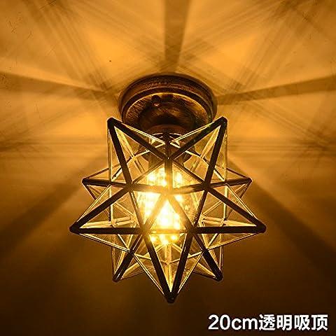 LYNDM soffitto luce stelle Lampadario Home lampada a sospensione Illuminazione