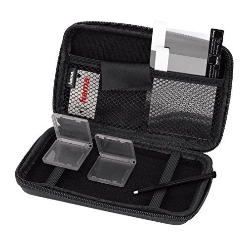 Hama 8 in 1-Zubehör-Set für Nintendo New 3DS XL (inkl. Tasche, Schutzfolien, Stift, Game Cases u.v.m.) schwarz