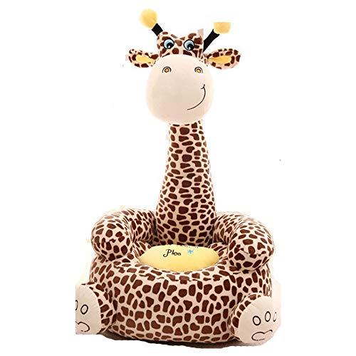 Puddingt Cartoon Kleines Sofa, Niedliche Kinder Sofa Stuhl Tatami Stuhl, Babystuhl, Geburtstagsgeschenke für Jungen und Mädchen,Pink