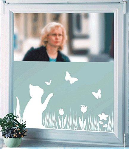WENKO Sichtschutzfolie Katze