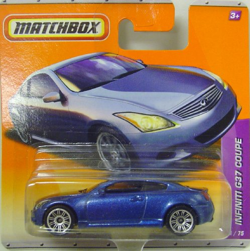 Matchbox Autos - Infiniti G37 Coupe in Blau (Infiniti G37 Coupe)