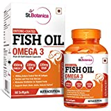 St. Botanica Fish Oil Omega 3 Advanced 1000Mg (Double Strength) 650Mg Omega 3
