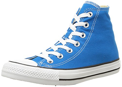 ConverseCtas Season Hi - Scarpe da Ginnastica Alte Donna , blu (Bleu (Bleu Cyan)), 36 EU