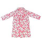 Peignoirs de bain Nuit pour Enfant Fille Robe de chambre Kimono en Polyester 8-9ans