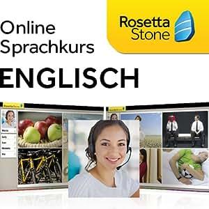 Rosetta Stone TOTALe Englisch (Amerikanisch), Online Zugriff für 12 Monate