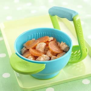 Chronex Mash And Serve Bowl For Baby - Blue