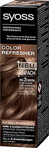 Syoss Color Refresher für kühle Braunnuancen, 3er Pack (3 x