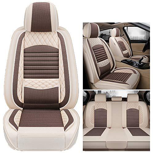 kangsheng Coprisedili Auto Universali,Cuscino per Sedile Posteriore Automatico A 5 Posti per Cadillac ATS CTS Xts SRX, Styling per Auto Chevrolet Impala Spin Epica Cruz