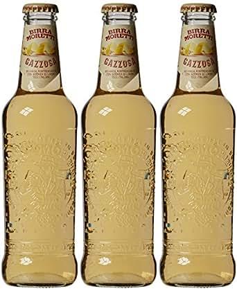 Birra Moretti - BIERE RADLER GAZZOSA 3X33CL - Produit artisanal italien - Produit artisanal italien