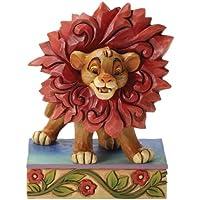 Enesco 4032861 - Figurillas decorativas con diseño disney tradition, 10 x 1,1 cm, color multicolor