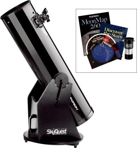 Orion XT10 Classic-Dobson-Teleskop mit Barlow-Linse und Zubehörset für Einsteiger