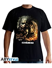 "THE WALKING DEAD Tshirt""God Forgive Us homme black"