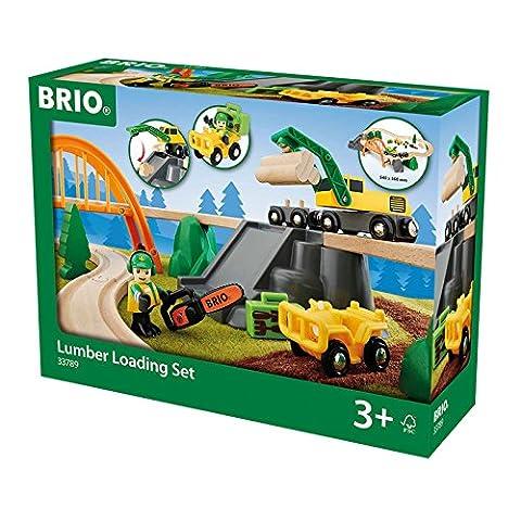 BRIO World - Lumber Loading Set