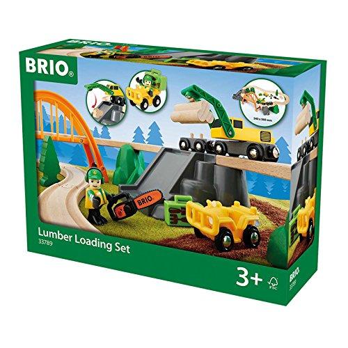 BRIO 33789 - Bahn Waldarbeiter Set, bunt