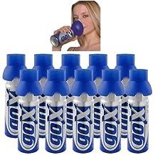 10 botellas de oxígeno GOX 6L para el bienestar y el deporte