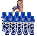 PACK OF 10 CANS OF OXYGEN PURE 6 LITRES - Fight against fatigue, tone your body and mind - BRAND GOX