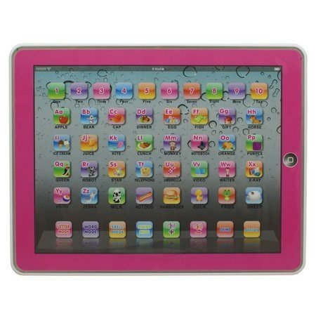 Y-pad Ypad PINK Color English Computer Table Learning Education Machine Tablet Toy Gift for Kids Children by Generic