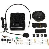 bestweekend DIY multifuncional cintura portátil amplificador Kit Especial Altavoz con carcasa auricular con micrófono micrófono para profesor guía turístico