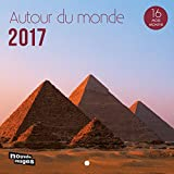 Nouvelles Images calendario 2017alrededor del mundo 16meses, 14,5x 14,5cm