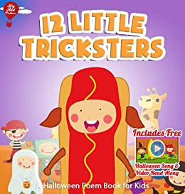 12 Little Tricksters [Halloween Poems Book for Kids] (Big Red Balloon 13) (English Edition) di [Balloon, Big Red ]