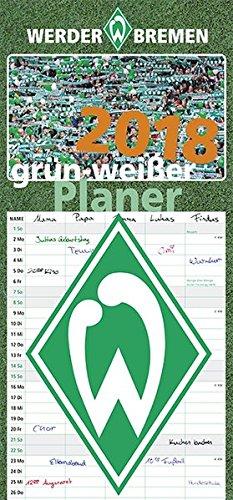 Grün-weißer Planer 2018