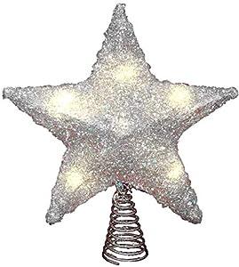 LAWOHO Árbol de Navidad Topper