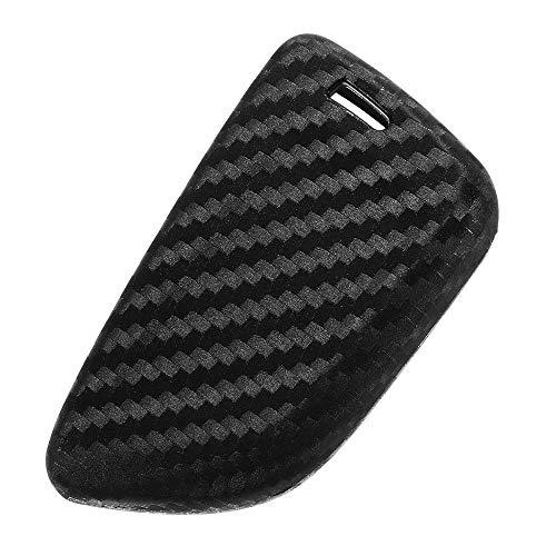 Hanbaili Silikonhülle Schutz für BMW Schlüsselanhänger, Keyless Entry Smart Remote Key Fob Fall für BMW X3 X4 M5 M6 GT3 GT5 1 2 3 4 5 6 7 Serie Kohlefaser-Textur (Bmw Remote Start)