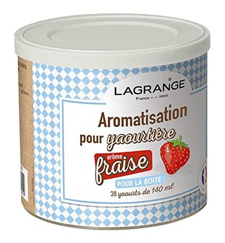 Lagrange - 380320 - Pot de 425g arome fraise pour yaourtière