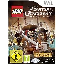 Videojuego de Lego de Piratas del Caribe, importación alemana.