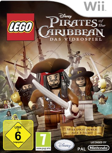 LEGO Pirates of the Caribbean Lego Piraten Spiel