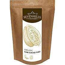 Sevenhills Wholefoods Puntas de Cacao Crudo Orgánico (Nibs) 500g