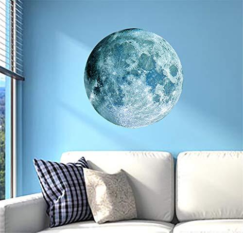Sticker Flash Wall Paste Nachtlicht Moon Night Light Glow Flash Wall