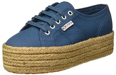 Superga Unisex Erwachsene 2790 Cotropew Sneakers, Blue (Smoky Blue), 35 EU