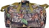 27 Explorer Wildland -Mossy Oak Realtree Like- Hunting Camo Heavy Duty Duffel Bag - Luggage Travel Gear Bag- Adjustable Heavy Stitched Shoulder Strap by Explorer