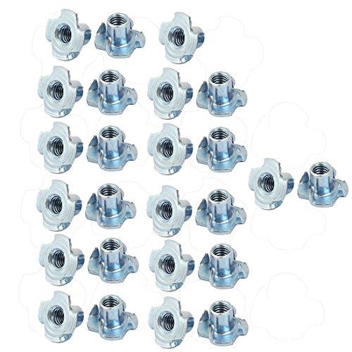 M8 hexagonal macrofotograf/ía tuerca rosca,Paquete de 20