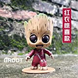 newolfend Mini Baum Mann Baby Action Figur Galaxy Wächter Anime Statuetten Grunt Nendoroid...
